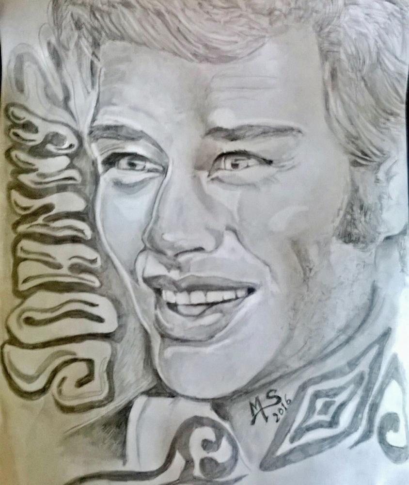 Johnny Hallyday by noisette